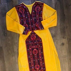 Hand made Peruvian light weight dress